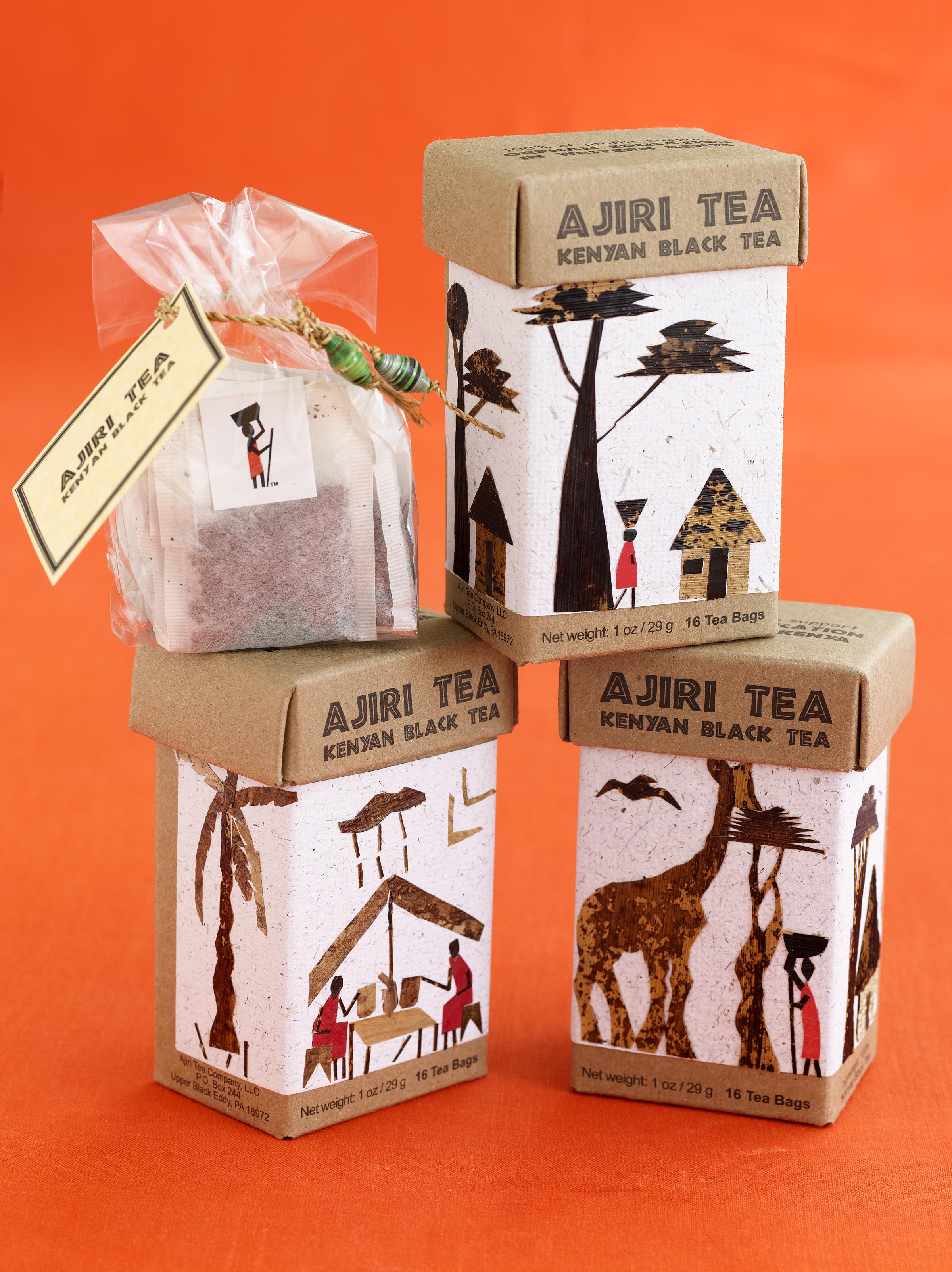 Чайные пакетики с индивидуальным дизайном