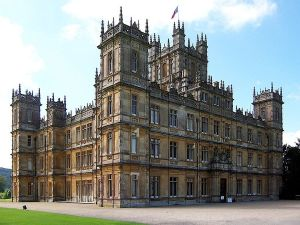 Highclere Castle, the setting for _Downton Abbey_ Series 3. Photo: John James.  Creative Commons 2.0