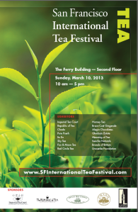 San Francisco International Tea Festival welcome banner