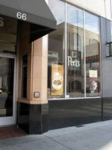 Peet's Coffee & Tea on Santa Clara St.  Photo: Elizabeth Urbach