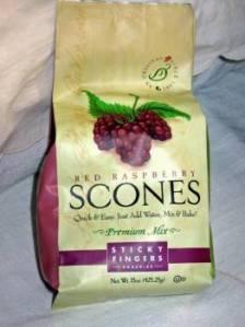 Sticky Fingers Red Raspberry Scone mix.  Photo: Elizabeth Urbach