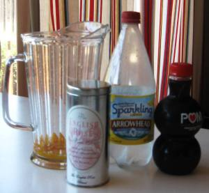 tea punch ingredients
