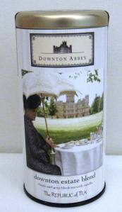 Downton Estate Blend tea from Republic of Tea.  Photo: Elizabeth Urbach.