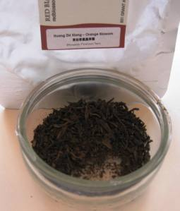 Orange Blossom Phoenix Oolong from Red Blossom Tea Company.  Photo: Elizabeth Urbach.